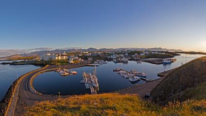 Island, Panorama Stykkisholmur