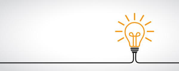 Idea, creative concept sign bulb - vector Fototapete
