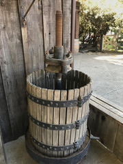 Rustic Grape Press