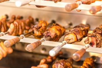 meat skewers