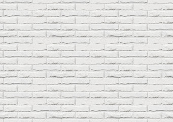 Seamless white brick wall  texture for 3D mapping.