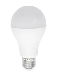 LED Bulb Isolated on White Background with clipping path