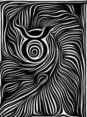Zodiaс Taurus Symbol Woocut