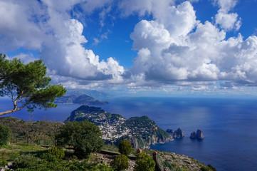 Island in the Mediterranean, Isle of Capri, Italy