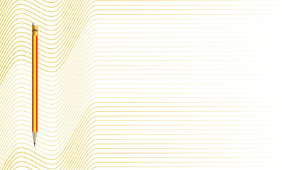 Vector Illustration of the golden pattern of lines abstract background. EPS10.