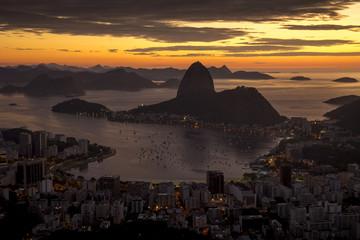 Fototapete - Sugarloaf mountain in Rio de Janeiro, Brazil