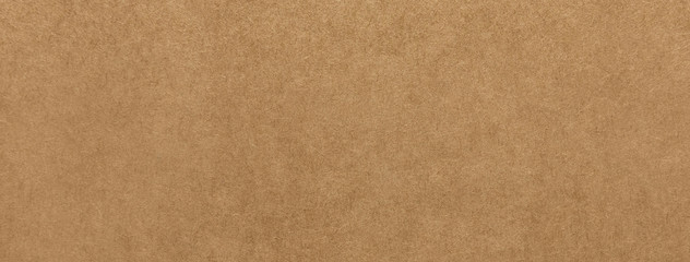 Light brown kraft paper texture banner background Fotoväggar