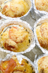 Delicious Baked Cheese Dish in Foil Dishes