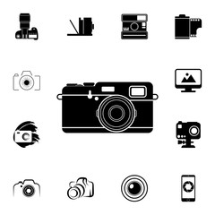vintage camera icon. Detailed set of photo camera icons. Premium quality graphic design icon. One of the collection icons for websites, web design, mobile app