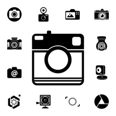 camera icon. Detailed set of photo camera icons. Premium quality graphic design icon. One of the collection icons for websites, web design, mobile app