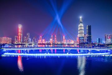 Shenzhen Nanshan District Talent Park Light Show