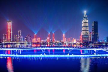 Shenzhen Talent Park Night Scene