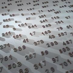 Prime numbers, illustration