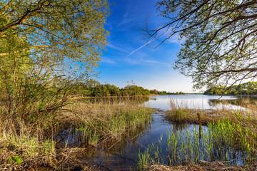 Wasserlandschaft in der Uckermark