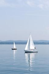 Segel, Segelboot, See, Symbol