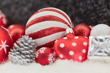Weihnachtskugel als Weihnachten Dekoration