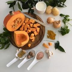 Potage au potimarron, ingrédients recette