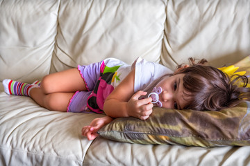 afternoon nap baby napping child couch bedtime sofa lullaby