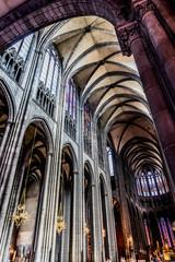 Dans la Cathédrale Notre-Dame-de-l'Assomption à Clermont-Ferrand