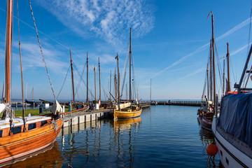 Hafen auf dem Fischland-Darß in Dierhagen