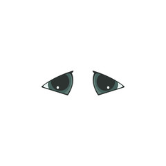 Animal eyes blue color icon. Elements of eyes multi colored icons. Premium quality graphic design icon