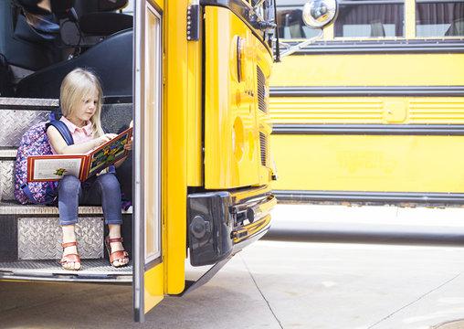 Study in school bus