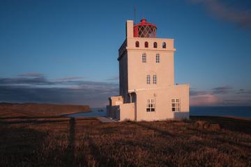 Dyrhólaey Lighthouse, Vik, Iceland