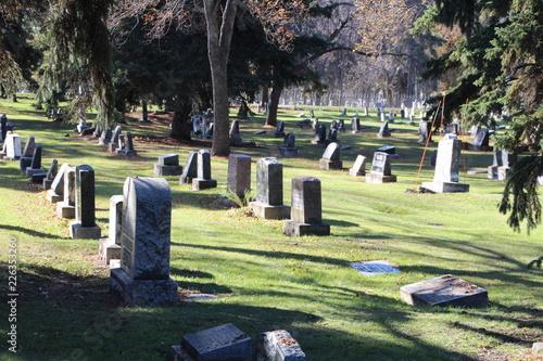 The Grave Stones, Edmonton Cemetery, Edmonton, Alberta