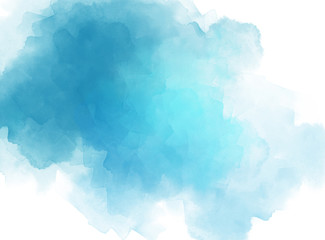 Abstract beautiful brush Colorful texture watercolor illustration painting background and backdrop.