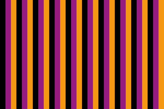 background of stripes in black, purple and orange for halloween
