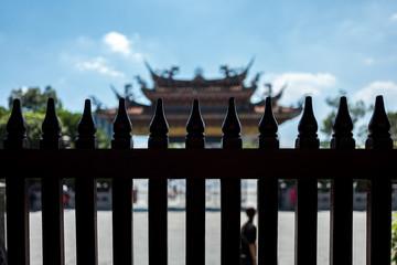 The Longshan Mengija temple in Taipei, Taiwan