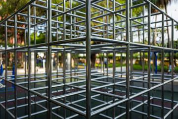 Playground in the Peace Memorialpark in Taipei, Taiwan.