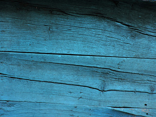 The texture of blue wooden door