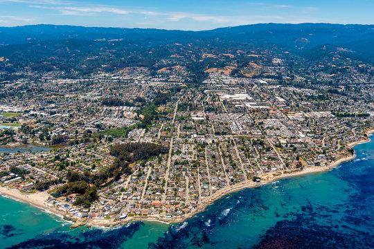 Santa Cruz California Aerial View