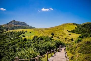 Randonnée au Puy Pariou  en Auvergne