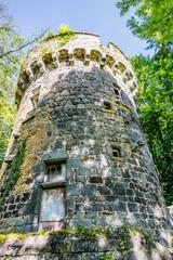 Tour du Château Dauphin à Pontgibaud