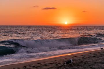 Sunset in Laguna Beach California