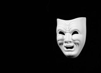 theatre comedy concept mask