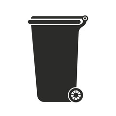 Garbage container. Recycle Bin. Vector