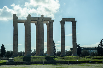 Columns in Greece
