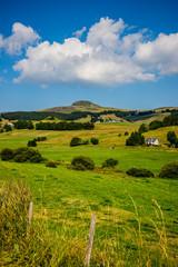 Paysage autour du Puy de Sancy et de Besse en Auvergne
