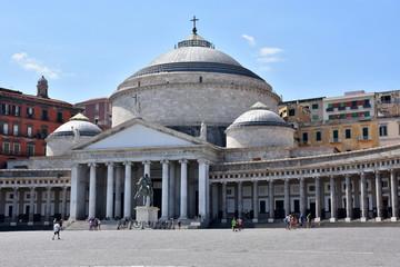 Basilique San Franseco di Paola à Naples (Italie)