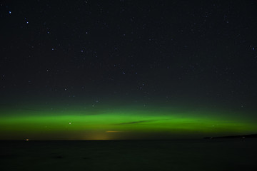 Nothern Light Over The Baltic Sea