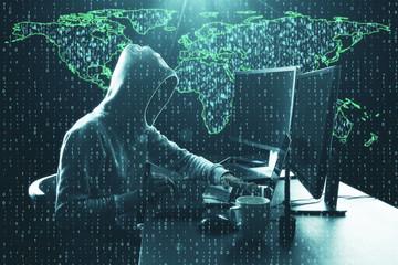 Computing and phishing concept