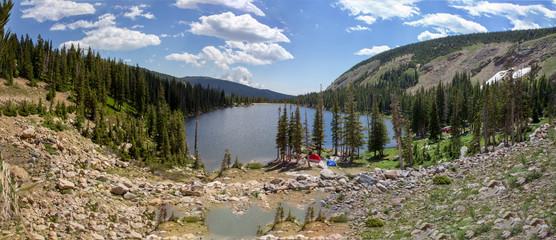 Mountain Lake Panorama 1