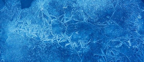 Nature Winter background With Beautiful natural icy pattern