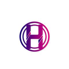 H letter icon sign symbol illustration vector