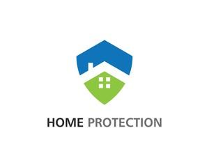Home protection logo vector