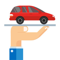 Vehicle owner use the insurance to protect if wrecked