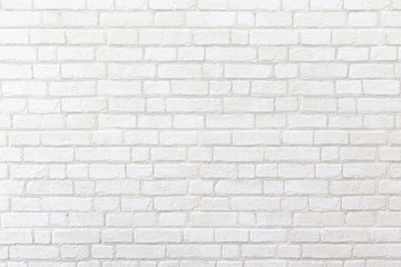 weathered white brick wall texture background.